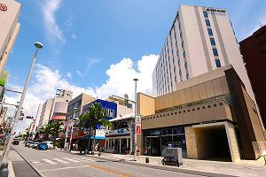 昨年4月に誕生した「ホテルグレイスリー那覇」<br />東証一部上場の藤田観光株式会社グループのホテルです。