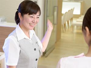健診に訪れたお客さまがホッとできるような接客を心がけています。
