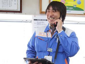 制服を身につけるだけで、「大阪ガス」のひとになる。少々口下手でも、誠実な方なら活躍できます。