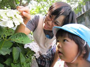 子どものことを第一に考えた無理のない保育を信条としています。