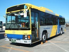 駅とホテルや学校、福祉施設を結ぶバスを運行しています
