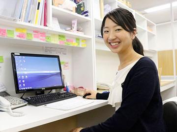 若手社員が多く、社内は明るく活気のある雰囲気です。