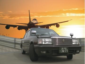 羽田空港に最も近いタクシー会社です!