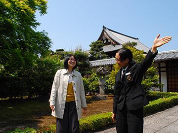 京都ならではの観光案内