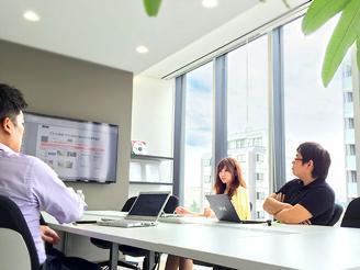 案件に併せてプランナーやデザイナーを含めたチームで取り組みます。