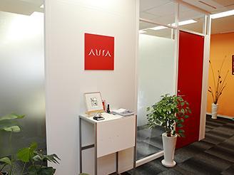 2013年に現在のオフィスへ移転。天神橋筋六丁目駅の改札から徒歩1分