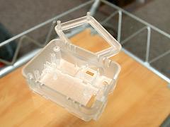 3D CADでモデリングしたデータが、あっという間に3Dプリンターで実物に!