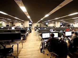 快適なオフィス空間で、 仕事に集中することができます。