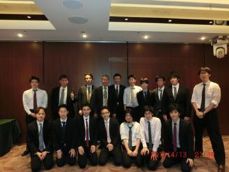 九州開発センターでの20周年記念パーティー