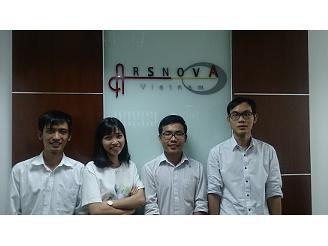 ホーチミンのオフィスです。今年はベトナムに社員旅行に行く予定です。