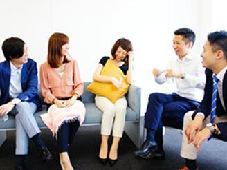 コミュニケーションがとりやすい雰囲気。事業部を跨いだ社内交流も活発です。