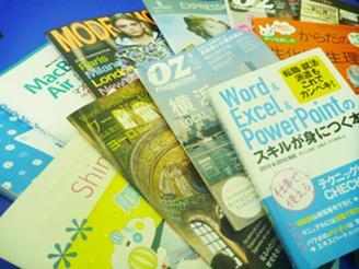 制作物は、カタログ、パンフ、雑誌・冊子、販促ツールなど、多岐にわたります。