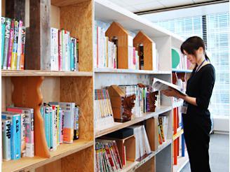 業務に活かせる書籍は会社で購入いたします!貸出しもOK!