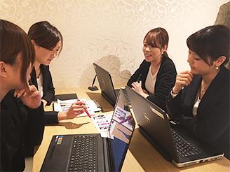 ウェディングドレスサイトも運営ドレスショップスタッフともミーティング♪