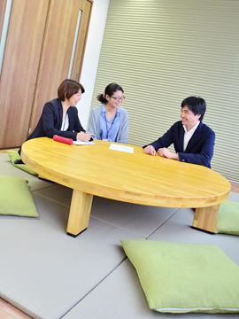 三軒茶屋駅からすぐ近くの新オフィス。 くつろげる、ゆったり和室も作りました。