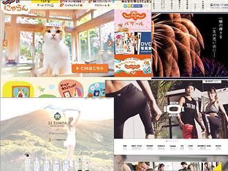 有名企業のサイトや誰でも知っている有名コンテンツも多数制作しています
