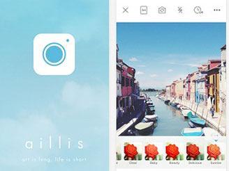 aillis(旧 LINE camera)は世界累計  1億DL突破しています。