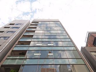 ココの5階がわたしたちのオフィスです。