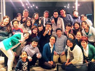 社員旅行も不定期開催されます。 昨年は伊豆で、お料理パーティーでした。