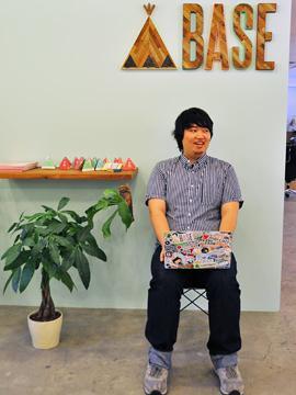 学生時代にBASEを起業した、 代表の鶴岡です。