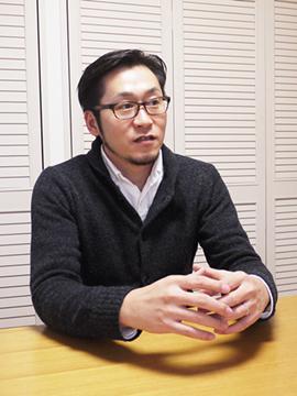 代表の篠崎です。我が子の話になると、 とっても嬉しそうになるリーダーです。