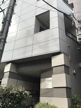 会社ビルの外観。京王線笹塚駅から徒歩5分です。