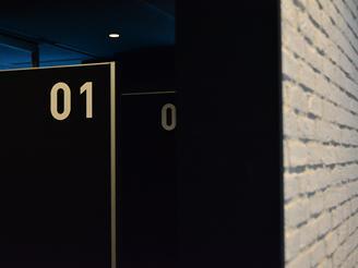 オフィスには「集中ルーム」も設置。生産性 の高い快適な環境づくりに注力しています。