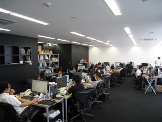 広々としたオフィスで居心地もバツグン♪仕事もはかどります。