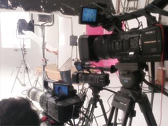 4KやBlackmagicのカメラなど 最新の撮影機材も揃っています!
