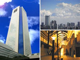 職場は都内有数の超高層ビル東京オペラシティタワー。環境の良さは抜群です。
