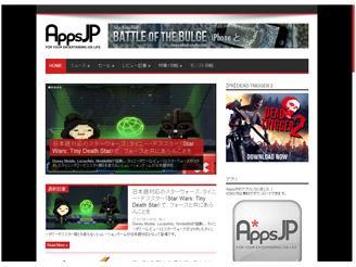 世界のiPhoneゲームアプリ情報サイト  『AppsJP』