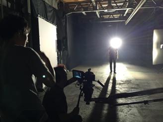 CM Shooting Image