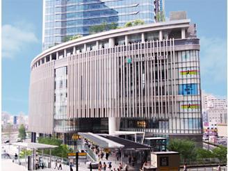 駅から直結でアクセス抜群のグランフロント大阪オフィスです!