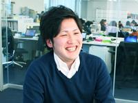 「数億円規模のプロジェクトに携われるチャンスもあるのが当社の魅力です」(プロデューサー 岡部)
