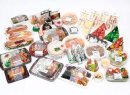 お弁当やおにぎり、サンドイッチ、冷凍食品など、様々な商品を手掛けています。