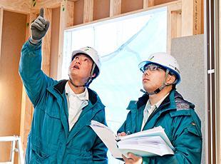 富士住建ならではの確かな安全基準は、多くのお客様の安心を支えています。
