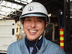 リサイクル業界で安定した基盤を築いてきた当社。安心して長く働けています!