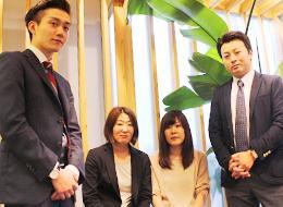 営業メンバーは20代・30代が中心。在籍している営業マネージャーも26歳です。