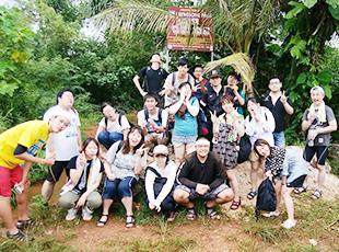年1回開催される楽しい社員旅行!社員同士の絆が深まります。
