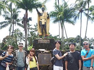 社員旅行を積極的に開催している当社。2015年度はハワイにいきました!