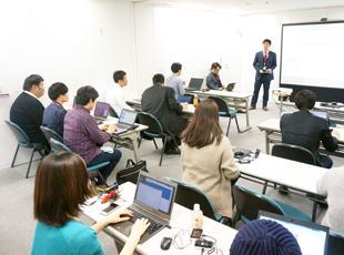 勉強会も多く開催され、あらゆる知識やスキルをみんなで共有しています。