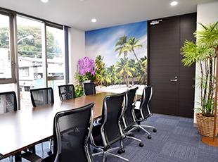 2016年9月に新しいオフィスに移転しました!新しく広いオフィスは社員にも人気です。