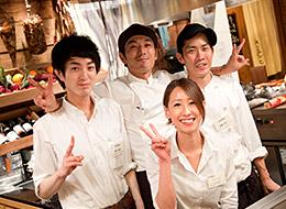 「磯丸水産」や「鳥良」など、こだわりの人気飲食店を展開中です!