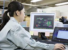 当社製品に触れるお客様は女性が中心。顧客視点のモノづくりを貫けます。