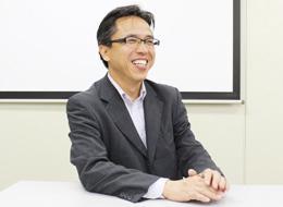組込業務ソリューション事業本部 ソリューション統括部 営業部部長/角田