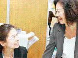 女性社員9割、オープンに何でも相談し合える環境です