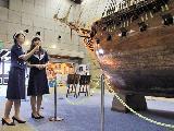 館内の展示物についても先輩からしっかり説明していきます!神戸の歴史についても詳しくなれますよ♪