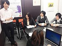 勤務先は有名企業のグループ会社などが中心。働きやすい環境が整っています。