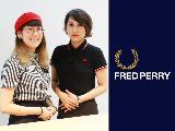 世界中にファンを抱えるローレルリースロゴのフレッドペリーブランド