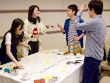 20代の若手社員が活躍中!打合せはいつも明るく活気があります。